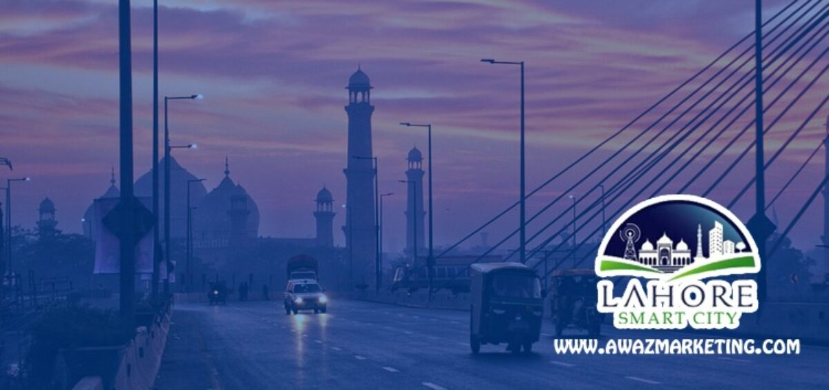 Lahore Smart City (Smart is the way to live)